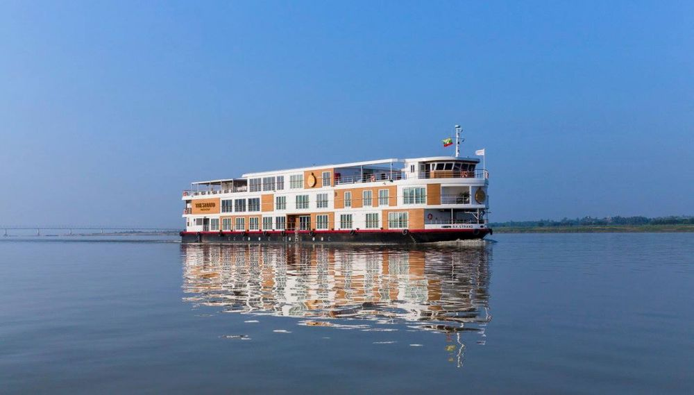 The Strand Cruise, Yangon, Myanmar Reise